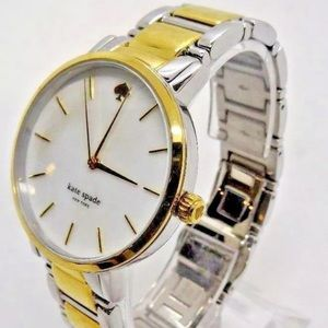 $225 KATE SPADE SILVER AND GOLD WATCH